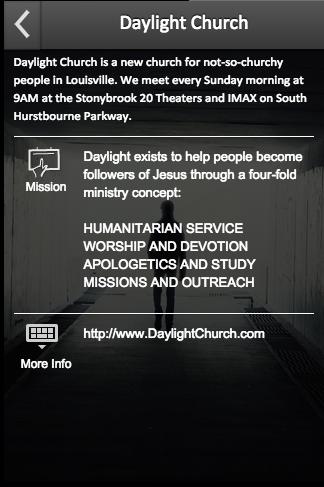 Daylight Church