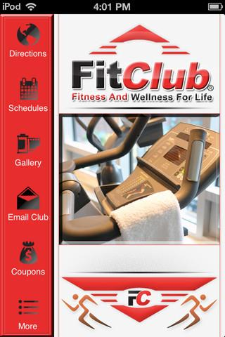 FitClub - screenshot
