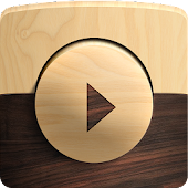 Poweramp skin Wooden