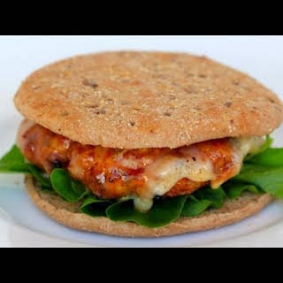 Clean Eating Sweet and Smokey Turkey Burger.