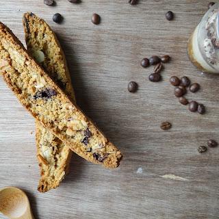 Chocolate Espresso Almond Biscotti & Affogato