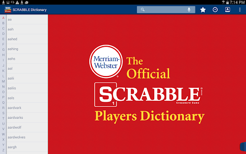 SCRABBLE Dictionary- screenshot thumbnail