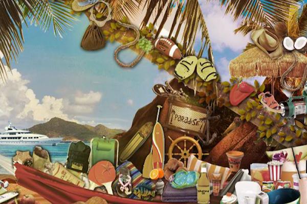 Paradise Hidden Objects Game - screenshot