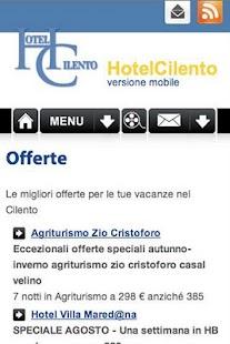 HotelCilento.it - screenshot thumbnail
