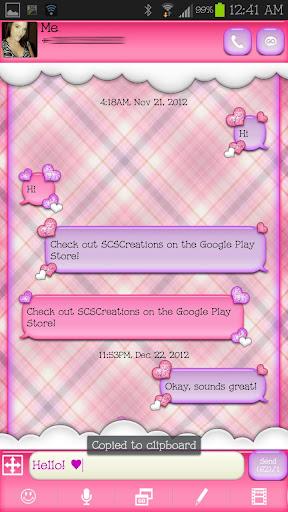 【免費個人化App】GO SMS - Special Hearts 5-APP點子