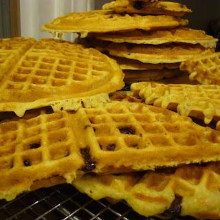 Whole Wheat Cranberry-Orange Waffles.