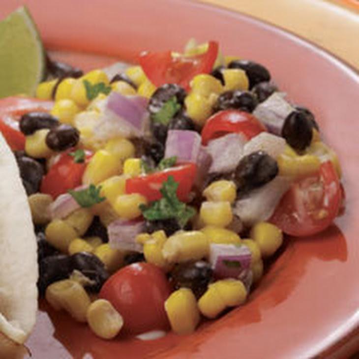 Fiesta Black Bean Salsa Recipe