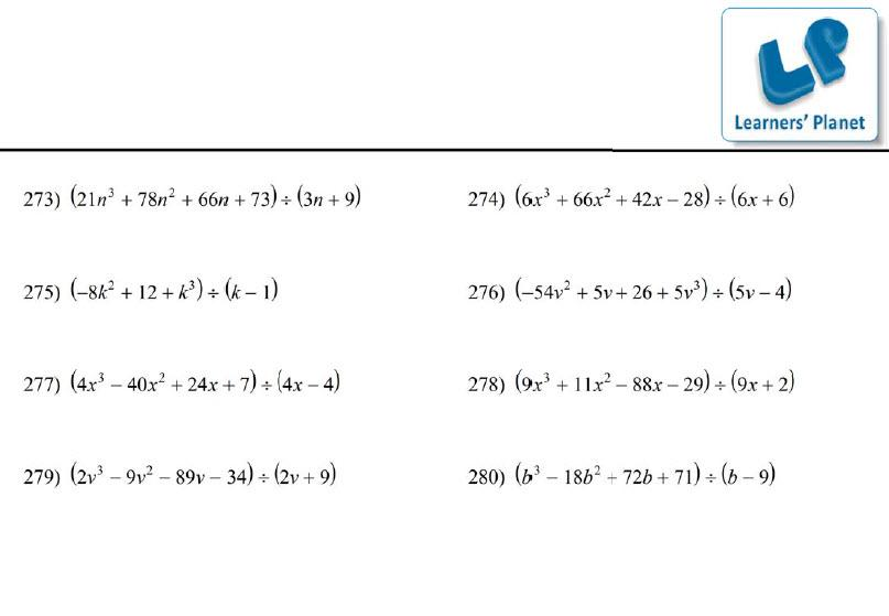 Math Worksheets Grade 9 Polynomials – Grade Nine Math Worksheets
