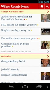 Wilson County News- screenshot thumbnail