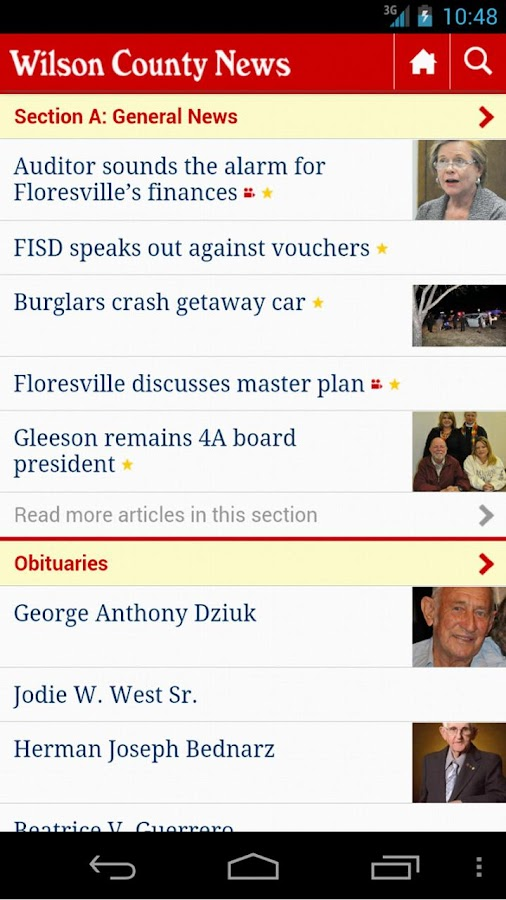 Wilson County News - screenshot