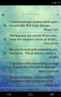 Screenshot of Positive Thinking