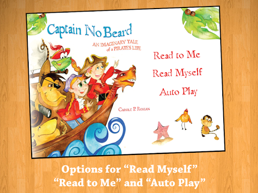 【免費書籍App】Captain No Beard Read-Along-APP點子