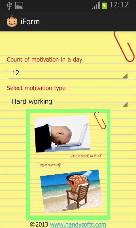 Ideal life motivation (Diet) - screenshot