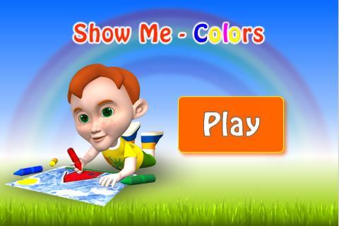 Show Me Colors - Autism Series