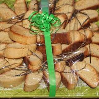 Basic Italian Biscotti.