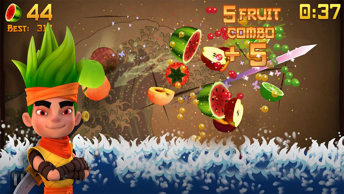 Fruit Ninja- screenshot