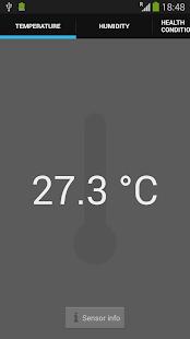 Galaxy Thermometer Sensors