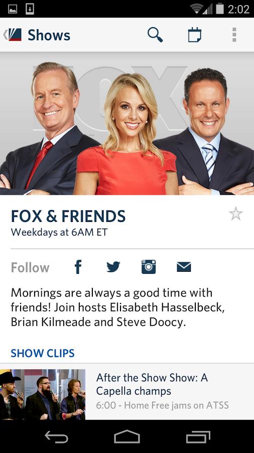 Fox News - screenshot