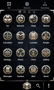 Alloy - GO Launcher Theme - screenshot thumbnail