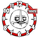 Meme Battery Clock icon