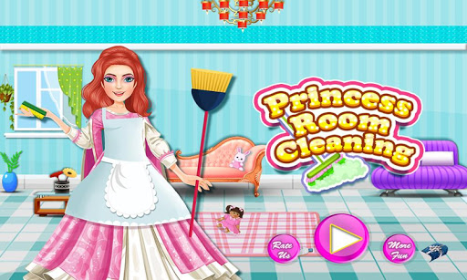 Princess Doll House Cleanup