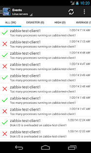 ZAX Zabbix Systems Monitoring - screenshot thumbnail