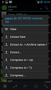 ZArchiver - screenshot thumbnail