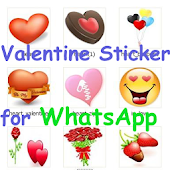 Valentine Sticker for WhatsApp