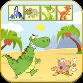 Dinosaurs Hunter Match