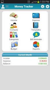 Money Tracker - Expense Budget Screenshot