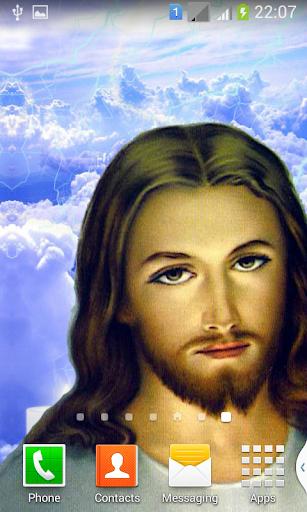 Jesus Moving Sky