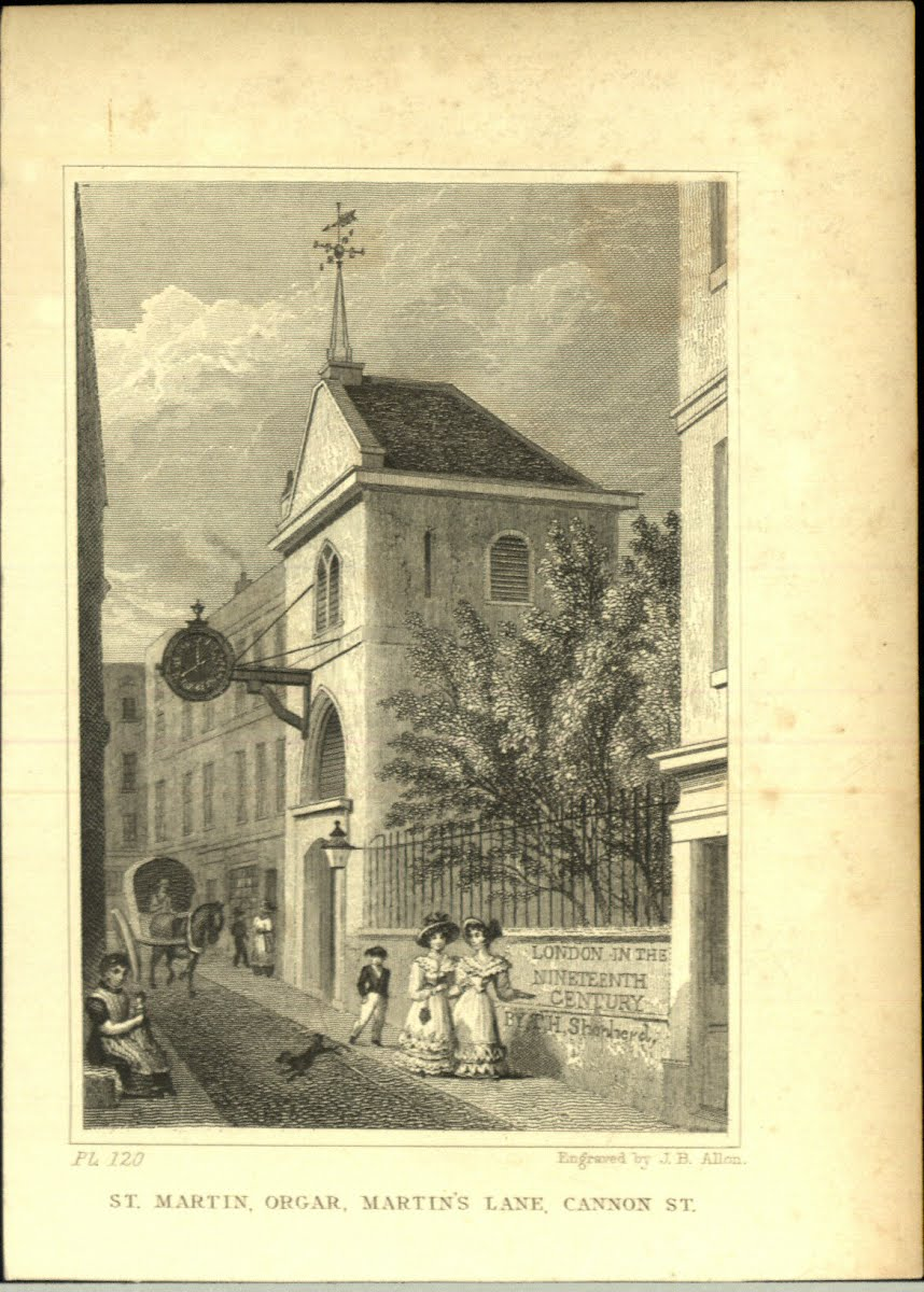 Top Euro (Bri-E) London Churches M Various (Excl. S. Marys)