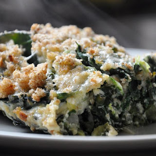 Two-Cheese Collard Green Gratin