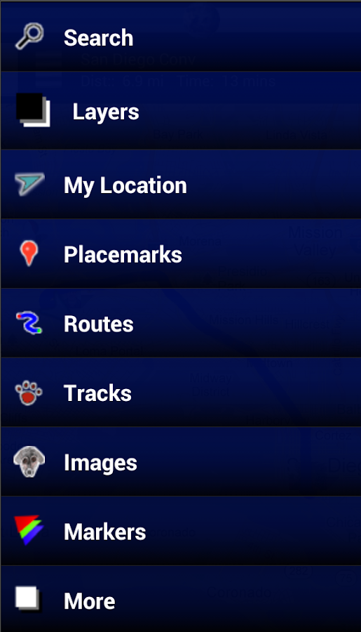GPS Map - screenshot