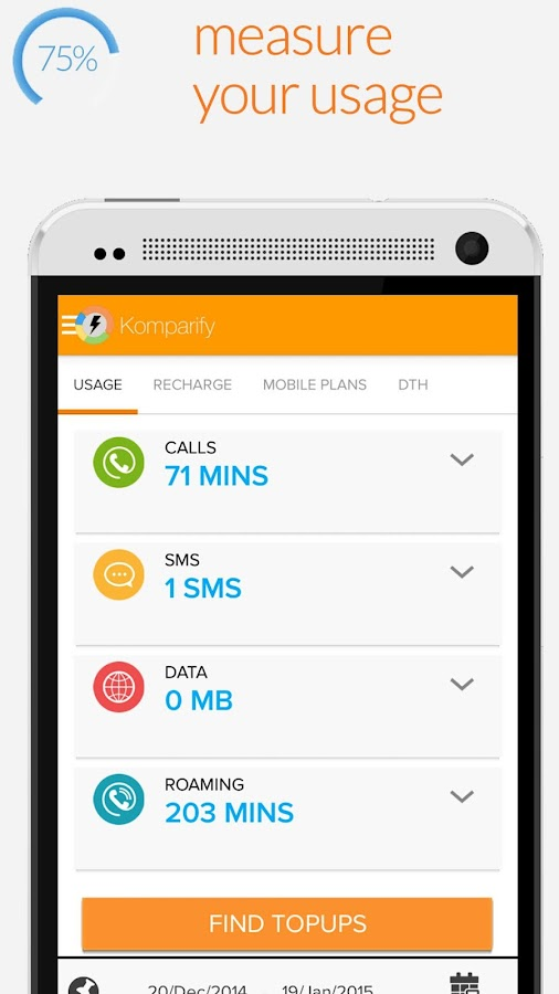 Mobile Recharge Plans & Packs - screenshot