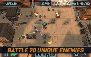 Screenshot of Four Days: World Defense