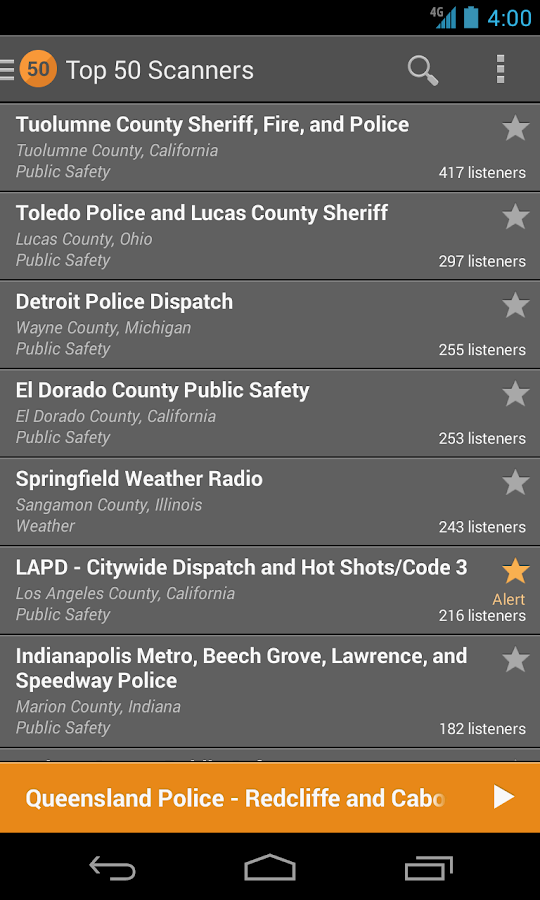 Scanner Radio Pro - screenshot