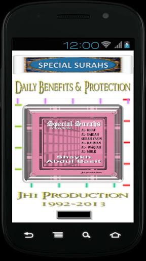 Al Basit Special Surahs