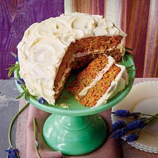 Layered Carrot Cake.