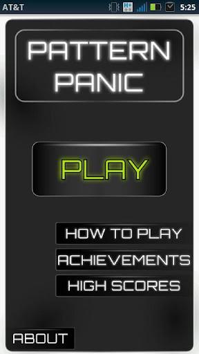 Pattern Panic - Free