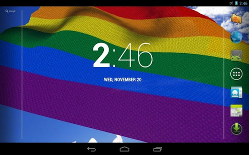 Gay Pride Live Wallpaper Free - screenshot thumbnail