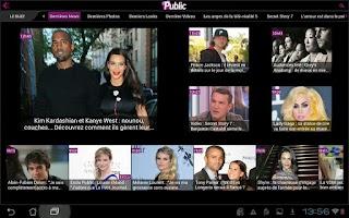 Screenshot of Public : Toute l'actu people