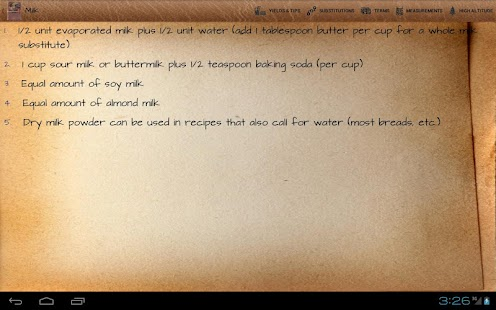 KnowledgeBook: Cooking - screenshot thumbnail