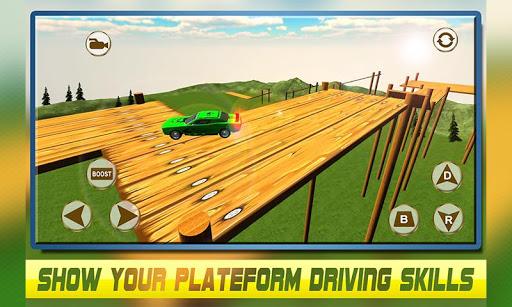 瘋狂的賽車平台的3D驅動程序