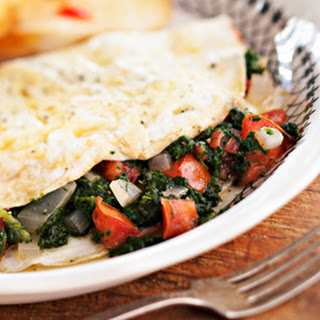 A Damn Good Egg White Omelet