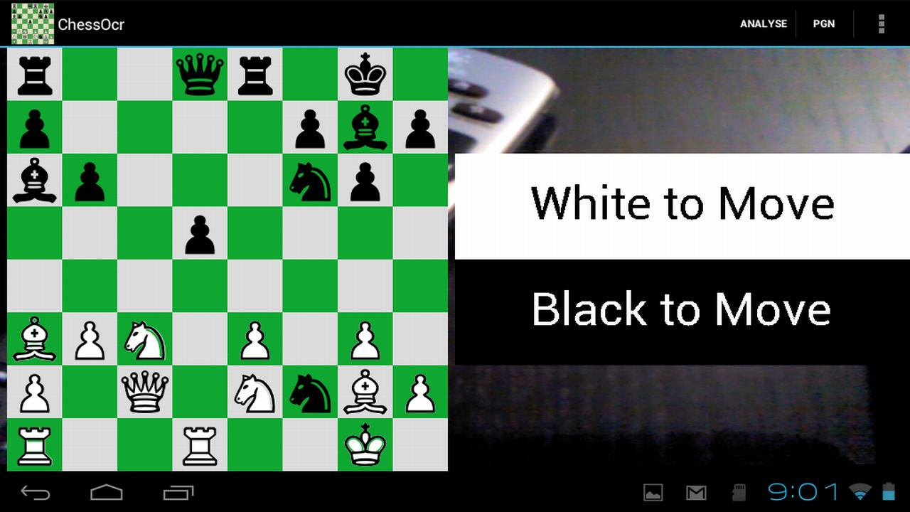 ChessOcr OCR Chess Diagrams - screenshot