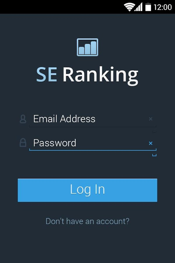 SE Ranking- screenshot