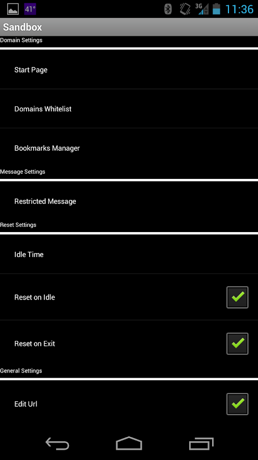 Sandbox web browser android apps on google play sandbox web browser screenshot malvernweather Gallery