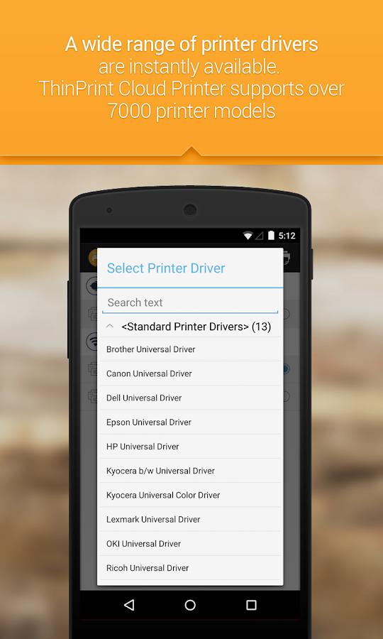 ThinPrint Cloud Printer - screenshot