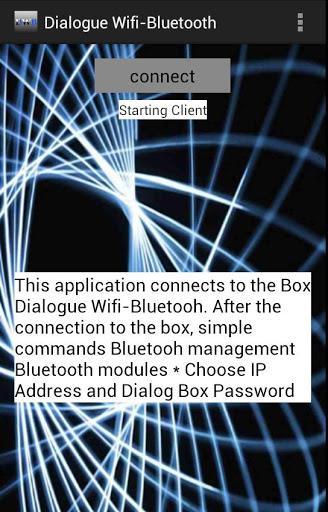 Dialogue Wifi-Bluetooth lite